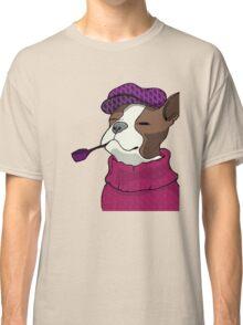 Tough Boston Terrier Girl Classic T-Shirt