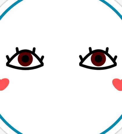 Doll Eyes Sticker
