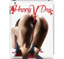Happy Vagina Day or Valentines xox iPad Case/Skin