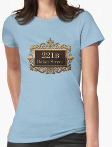 221B Baker St - Sherlock Holmes Womens Fitted T-Shirt