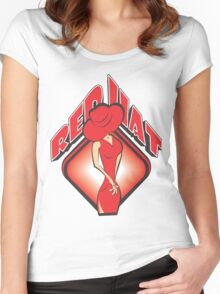 RED HAT Women's Fitted Scoop T-Shirt
