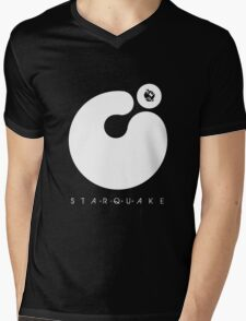 Starquake Mens V-Neck T-Shirt