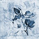 Blue Magnolia by artsandsoul