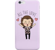 HARRY :: ALL THE LOVE  iPhone Case/Skin