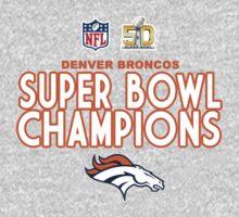 Denver Broncos - 2016 Super Bowl 50 Champions One Piece - Long Sleeve