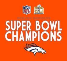 Denver Broncos - 2016 Super Bowl 50 Champions Kids Tee