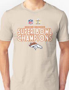 Denver Broncos - 2016 Super Bowl 50 Champions T-Shirt