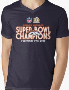 Denver Broncos - 2016 Super Bowl 50 Champions Mens V-Neck T-Shirt
