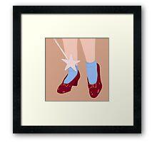 Wizard of Oz Dorothy Framed Print