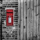 English postbox by Lisa Kent