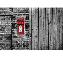 English postbox Photographic Print