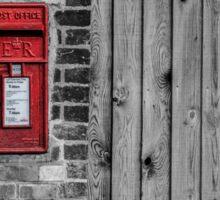 English postbox Sticker