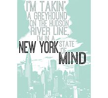 Billy Joel New York State of Mind Photographic Print