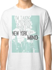 Billy Joel New York State of Mind Classic T-Shirt