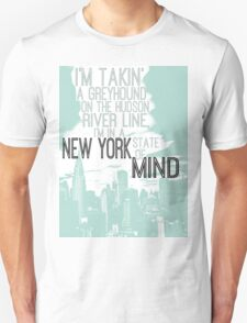 Billy Joel New York State of Mind Unisex T-Shirt