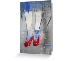 """Ruby Slippers"" Greeting Card"