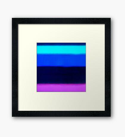 XeF 1 Framed Print