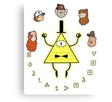 Bill Cipher Canvas Print