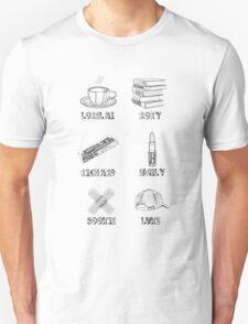 Gilmore Girls Characters Unisex T-Shirt
