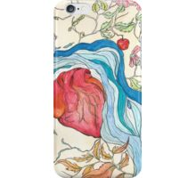 Hearts and Trees Remember the River that Fed Them iPhone Case/Skin