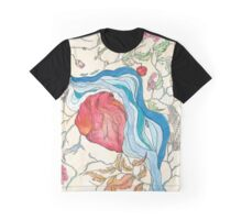 Hearts and Trees Remember the River that Fed Them Graphic T-Shirt