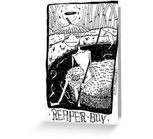 reaper boy Greeting Card
