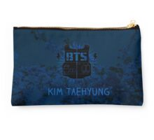 BTS V - Blue Flowers Studio Pouch