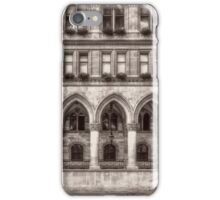 Windows, arches and street lamp iPhone Case/Skin