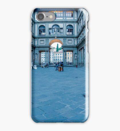 Courtyard Pano iPhone Case/Skin