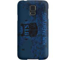 BTS V - Blue Flowers Samsung Galaxy Case/Skin