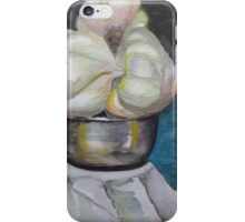 Three garlic graces iPhone Case/Skin