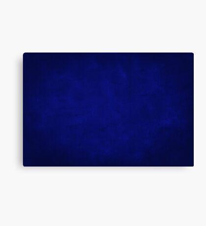 vintage background - dark blue texture Canvas Print