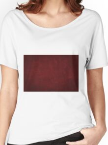 vintage design background - dark red  texture Women's Relaxed Fit T-Shirt