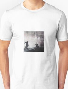 Grey Sky Bunnies Unisex T-Shirt