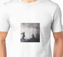 Grey Sky Bunnies Unisex T-Shirt