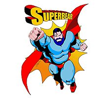 Superbear - Bearoes Photographic Print