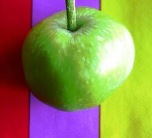 Stripes and Apple 2 by RedCurrant8