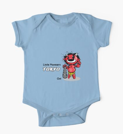 Little Monsters Tokyo: ONI One Piece - Short Sleeve