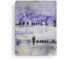 Bird Line Canvas Print