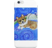 Boney the Brave Corgi Angel iPhone Case/Skin