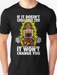 Challenge and Change (Goku Deadlift) T-Shirt