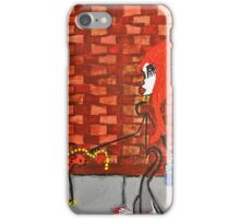 Lady Walking Dog iPhone Case/Skin