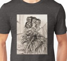 Will-the broken-coated lurcher Unisex T-Shirt