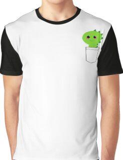 Pocket cute dino (T-Rex) Graphic T-Shirt