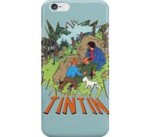 tintin adventures iPhone Case/Skin