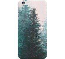 Painted Tree Scene iPhone Case/Skin
