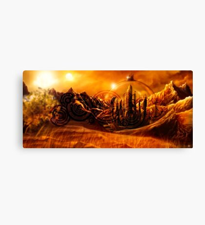 Doctor Who - Gallifrey & Doctor's Name Canvas Print