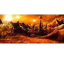 Doctor Who - Gallifrey & Doctor's Name Photographic Print