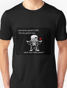 Sans Undertale LOVE Vs Love T-Shirt