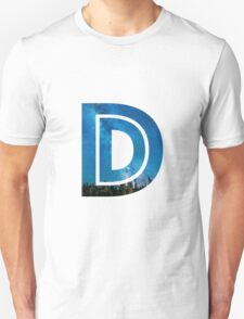 The Letter D - Starry Night T-Shirt